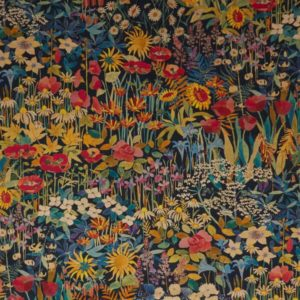 Faria Flowers Marigold Fabric by Liberty