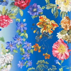 Alexandria Lapis Fabric by Designers Guild