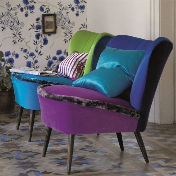 Arietta Zinc Fabric by Designers Guild