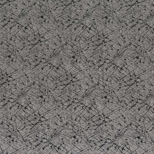 Pleiade Anthracite/Noir Fabric by Casamance