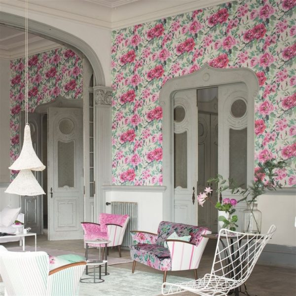 Torlonia Wisteria Fabric by Designers Guild