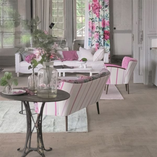 Brera Nastro Crocus Fabric by Designers Guild