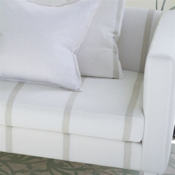 Brera Spigato Natural Fabric by Designers Guild