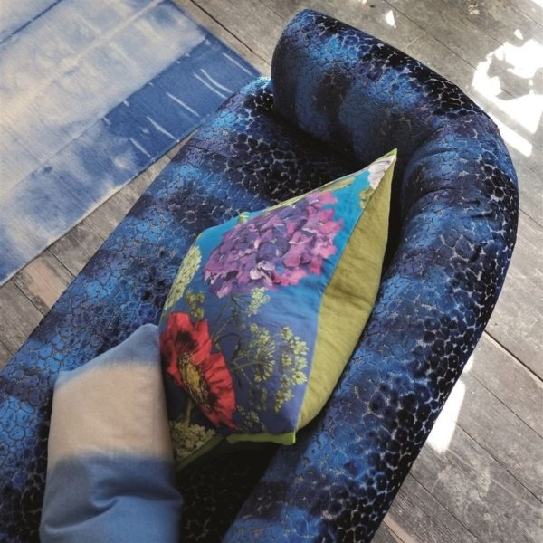 Zannachi Cobalt Fabric by Designers Guild