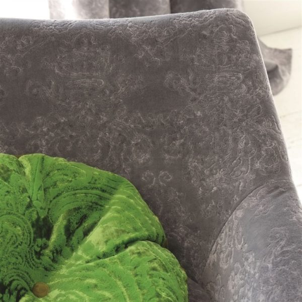 Molano Slate Fabric by Designers Guild