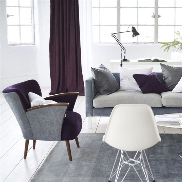 Bilbao Mulberry Fabric by Designers Guild