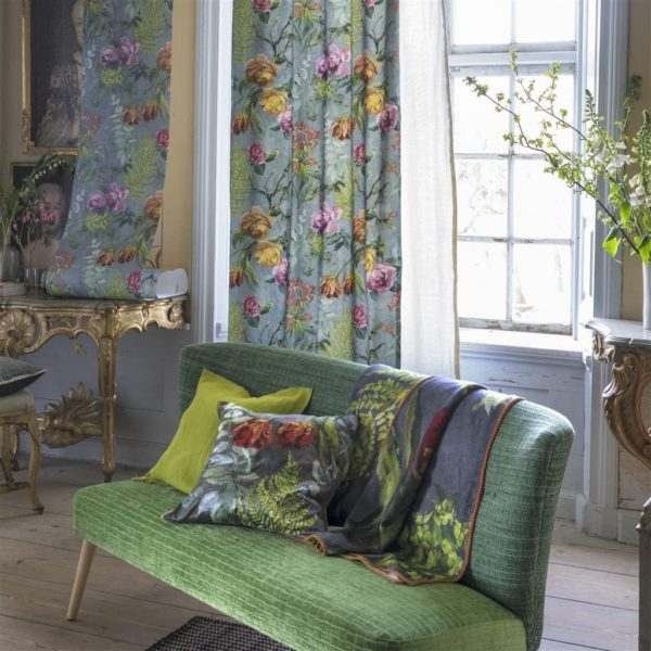Ruskin Emerald Fabric by Designers Guild