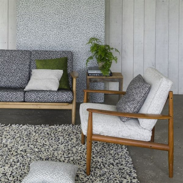 Enza Natural Fabric by Designers Guild