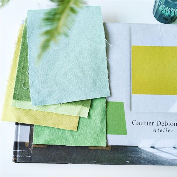 Canvas Lime Fabric by Designers Guild