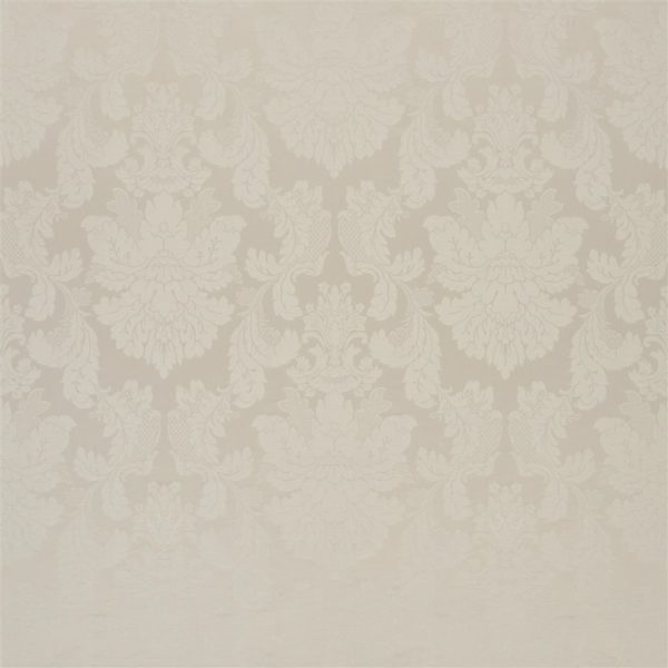 Tuileries Damask Putty Fabric by Designers Guild