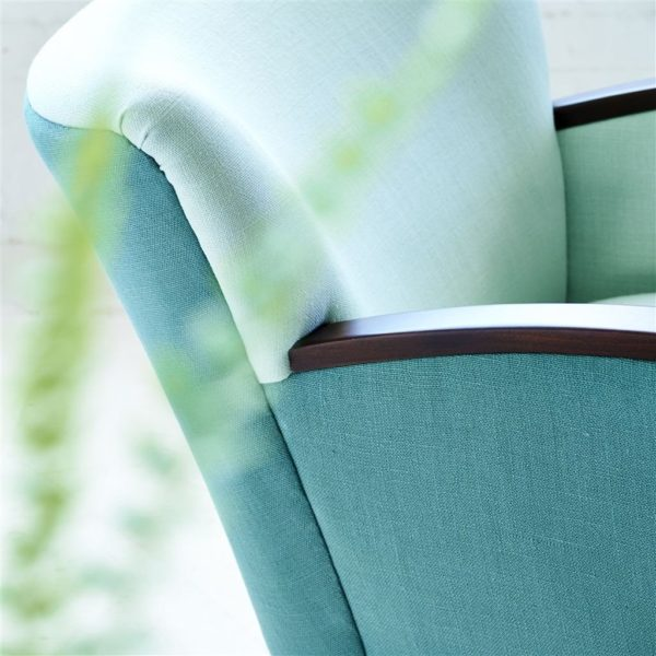 Conway Pale Aqua Fabric by Designers Guild