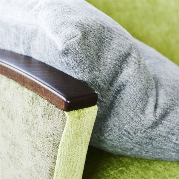 Riveau Silver Fabric by Designers Guild