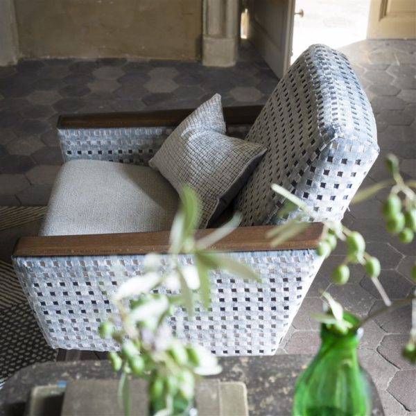 Parterre Zinc Fabric by Designers Guild