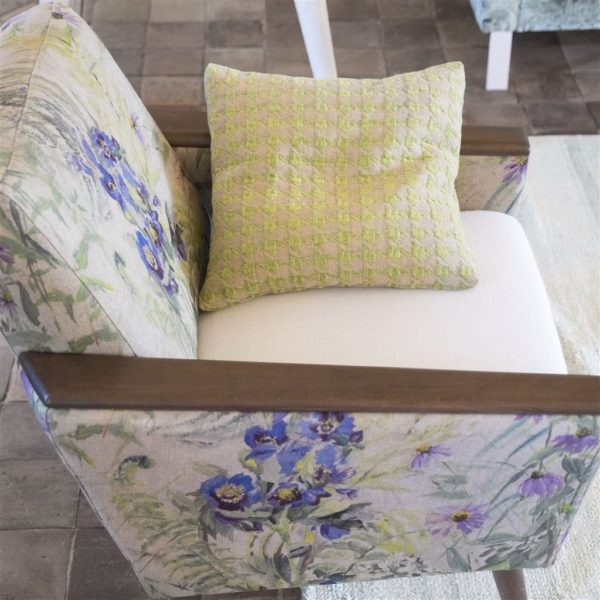 Mansart Leaf Fabric by Designers Guild
