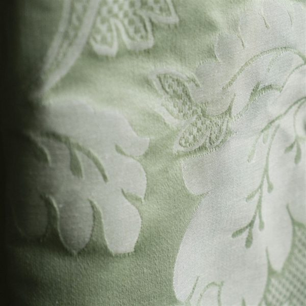 Tuileries Damask Leaf Fabric by Designers Guild