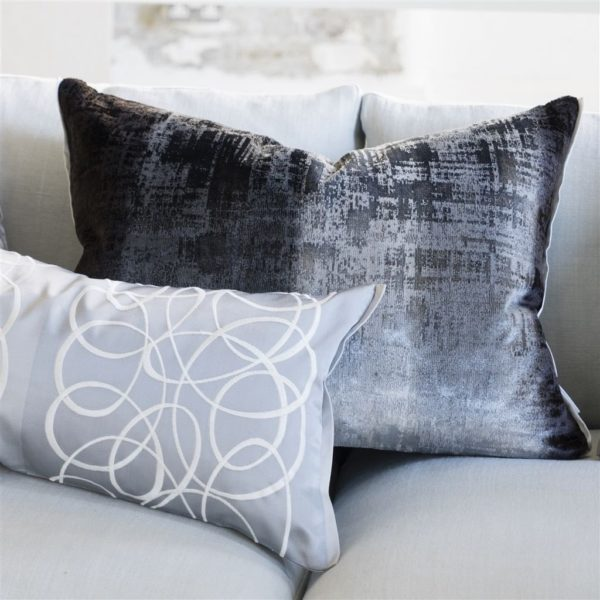 Phipps Graphite Fabric by Designers Guild