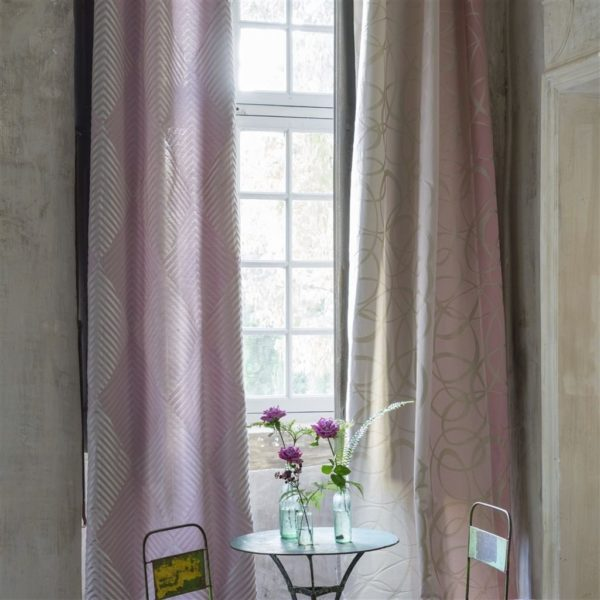 Marquisette Pale Rose Fabric by Designers Guild