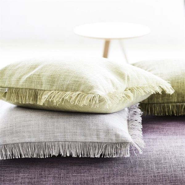 Carlyon Olive Fabric by Designers Guild
