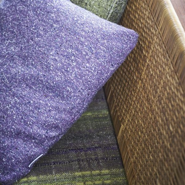 Brecon Violet Fabric by Designers Guild