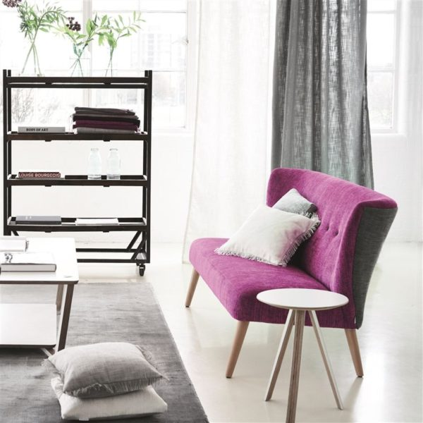 Carlyon Espresso Fabric by Designers Guild