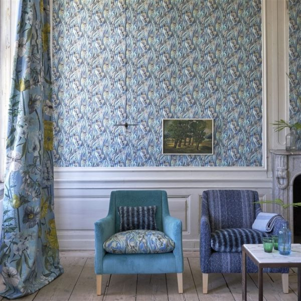 Roxburgh Denim Fabric by Designers Guild