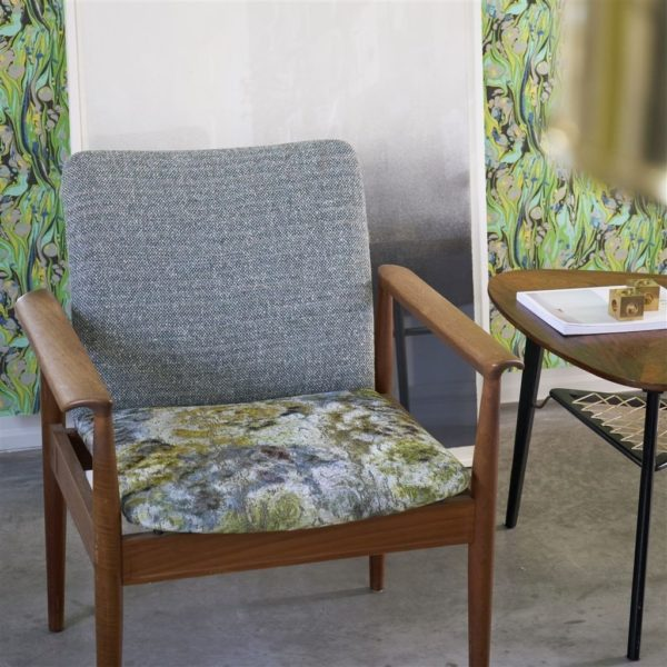 Kelso Pebble Fabric by Designers Guild