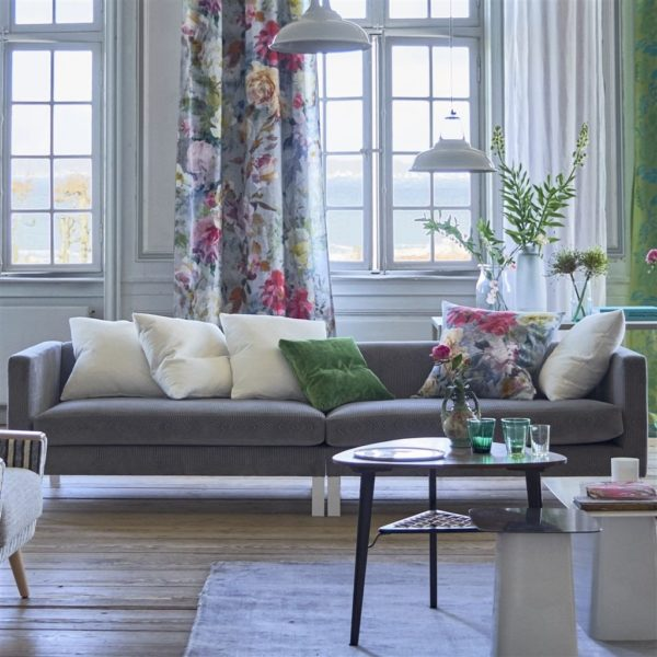 Roxburgh Zinc Fabric by Designers Guild