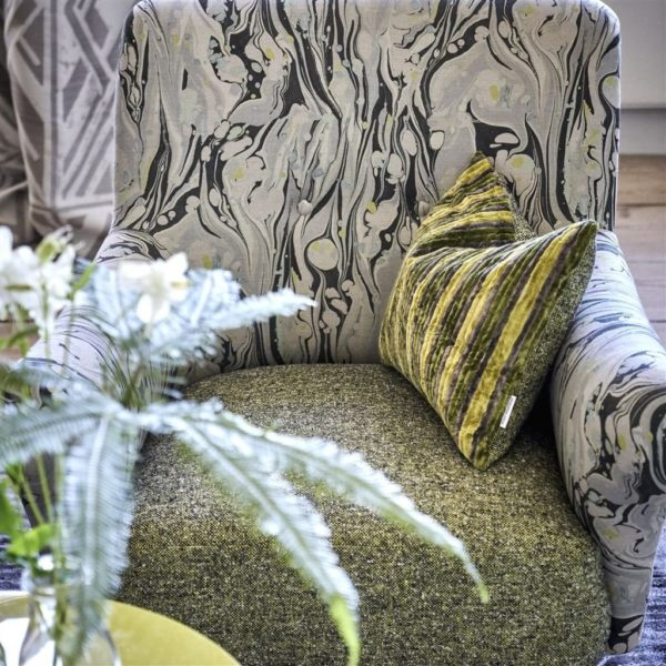 Brecon Leaf Fabric by Designers Guild
