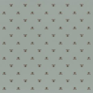 The Apis wallpaper by Casamance with a pattern of small bees