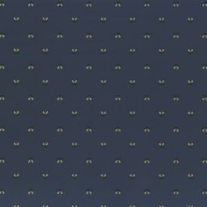 A closer look at the Apis wallpaper by Casamance which has a small bees design.  In the colour Marine | Decor Rooms