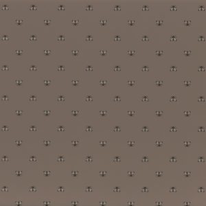A closer look at the Apis wallpaper in Taupe by Casamance