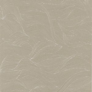 The Alula wallpaper by Casamance in the shade taupe | Decor Rooms