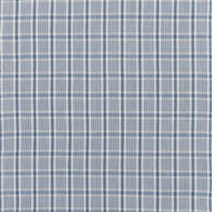 Provence Check Sea Fabric by Ralph Lauren