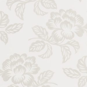 Berettino Ivory Wallpaper by Designers Guild
