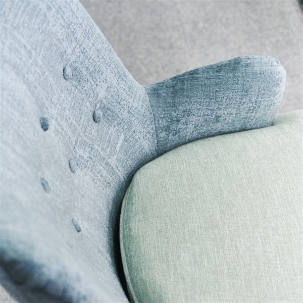 Ampara Steel Fabric by Designers Guild