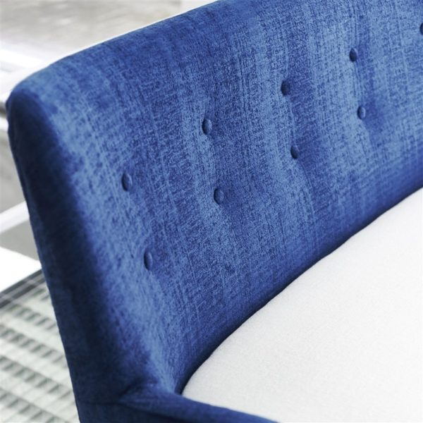 Ampara Cobalt Fabric by Designers Guild
