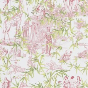 Exotisme Tomette Wallpaper by Christian Lacroix