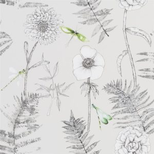 Acanthus Graphite Wallpaper by Designers Guild
