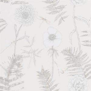 Acanthus Ivory Wallpaper by Designers Guild