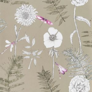 Acanthus Gold Wallpaper by Designers Guild