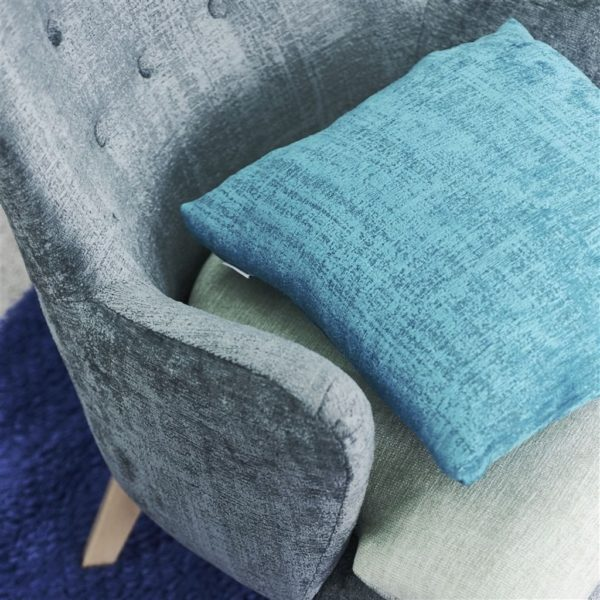 Ampara Duck Egg Fabric by Designers Guild