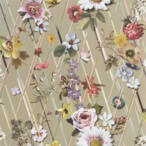 Rocaille Or Wallpaper by Christian Lacroix