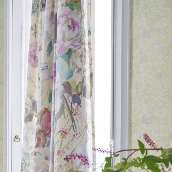 Palissy Grande Camellia Fabric by Designers Guild
