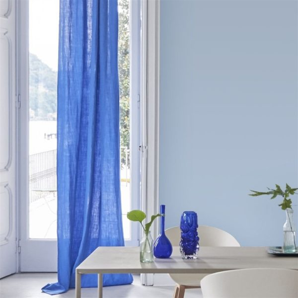 Brera Lino Ink Fabric by Designers Guild