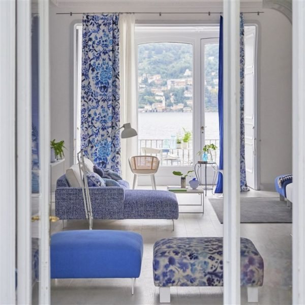 Strato Cobalt Fabric by Designers Guild