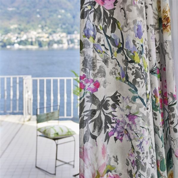 Majolica Slate Fabric by Designers Guild