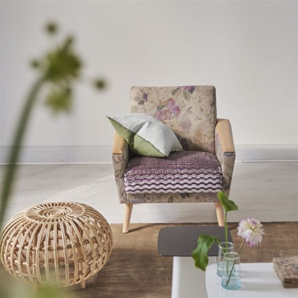 Palissy Magenta Fabric by Designers Guild