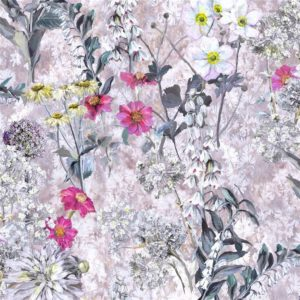 Artemisia Fuchsia Fabric by Designers Guild