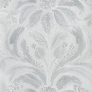 Angelique Damask Graphite Wallpaper by Designers Guild