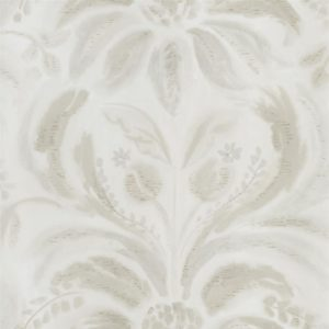 Angelique Damask Linen Wallpaper by Designers Guild